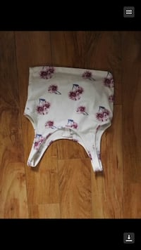 white and pink floral onesie Calgary, T3K 3Y3