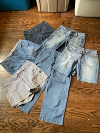 LOT OF SIZE 8-10 BOTTOMS -$30 Toronto