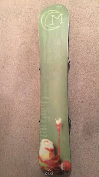 Snowboard mint condition 150$ or best offer  Edmonton, T6J