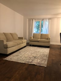 Love set and sofa in amazing condition Milton, L9T 5V5