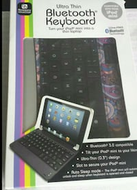 black tablet computer with keyboard Falls Church, 22043