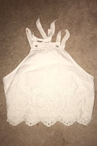 Brand New White Crop Top Mississauga, L5H 3X3