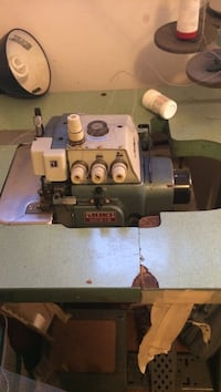 white and grey Juki mo-816 industrial search sewing machine Toronto, M3A 1M7