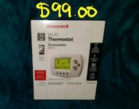 white Honeywell Wi-Fi thermostat box Hyattsville, 20782