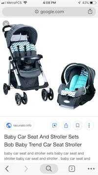 Baby trend car seat and stroller  Fresno, 93710