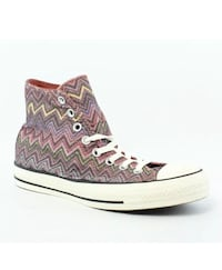 New, authentic Missioni for converse high top runners size 9.5  (would easily fit 9-10)