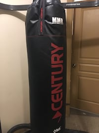 black and red Century heavy bag Edmonton, T6V 1W9