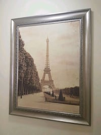 Eiffel Tower print. Burnaby, V5H 1H7