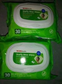 Stuffy nose wipes