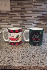 Starbucks Christmas Themed Coffee Mugs Media, 19063
