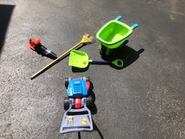 Kids' outdoor play tools!