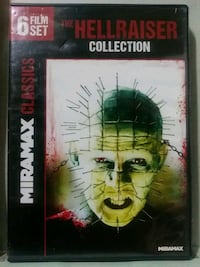 Hellraiser 6 film dvd set