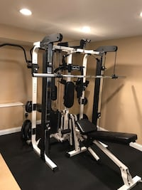 Black and white exercise equipment Plano, 75093