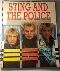Sting and the Police 1984 World Tour Book Catonsville, 21228