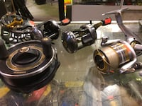 Fishing Reels $55+up New Westminster, V3M