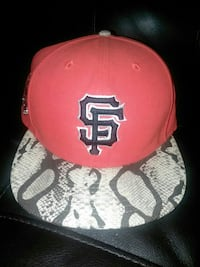 SF Giants Orange snakeskin stapback Lodi, 95240