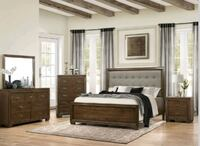 Leavit Brown 4 Piece Platform Bedroom Set Odenton, 21113