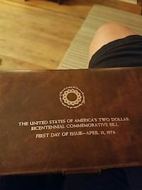 The United States of America's Two Dollar Bicenten Rahway, 07065