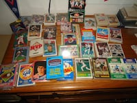 Baseball Cards  Complete Sets - Food, Gas Station, etc Issues Bethpage, 11714