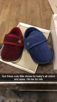 Baby shoes could be for the house or outside. Soft too hard bottom  Holbrook, 02343