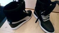 pair of black-and-white Nike basketball shoes Toronto, M6H