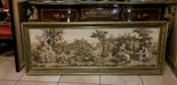 Big Italian tapestry &  wood gold frame.  Cape Coral, 33914