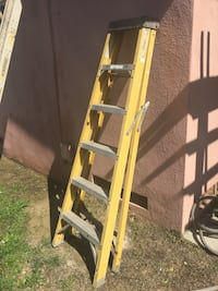 brown and green Werner A-frame ladder Covina, 91723