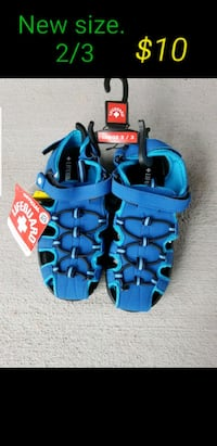 New boy youth sandals size 2/3 Las Vegas, 89120