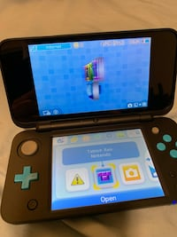 Nintendo 2DS with 4 games and case! Ranson, 25438