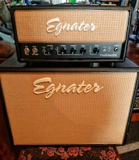 Egnater Tweaker 15 tube head/cab stack FOR SALE 07747, 07747