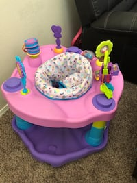 baby's pink and purple activity saucer El Paso, 79938