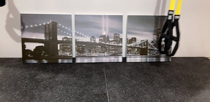 Cityscape Photography Wall Art/ Decor