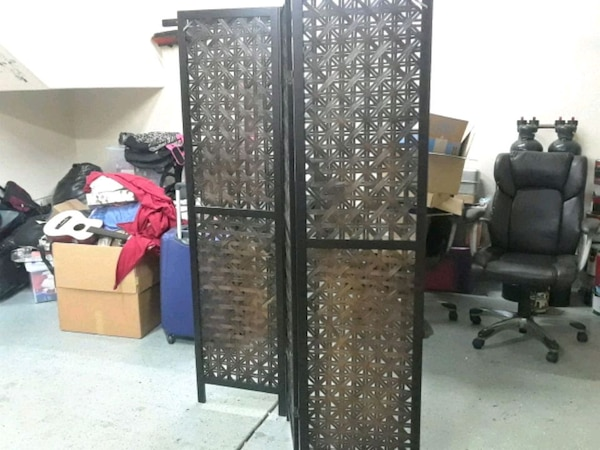 black and brown wooden wardrobe