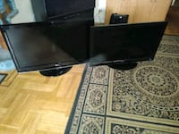 Coby and lg flat screen tvs ( for parts ) Brooklyn, 11218