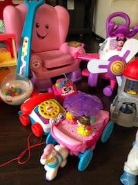 Toddler girl toy lot, $40 for all or best offer individually Bryan, 77807