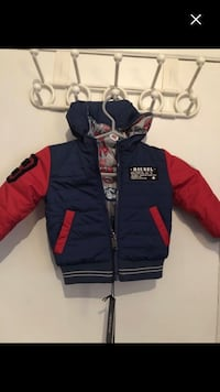 Boy Brand new jacket diesel size 18m with tags paid 125$ Montréal, H4E 1M6