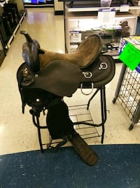 black and brown horse ride on toy Tomball, 77375