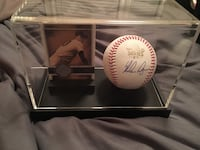 Nolan Ryan autographed World Series 17 baseball with card coa by Ryan  Cypress, 77433