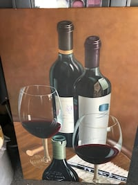 Canvas wine picture Mahtomedi, 55115