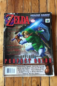 The Legend of Zelda Ocarina of Time Versus Books Strategy Guide