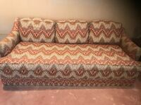 "Single cushion 72"" couch in excellent condition.  35"" deep and 27"" high at back.  Looking for cash only sale in 1 week."