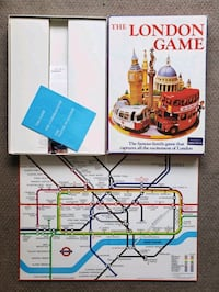1972 Vintage & Rare The London Game Board Game