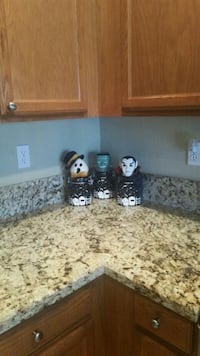Halloween Canisters Never Used  Surprise, 85374