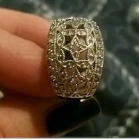 Beautiful silver ring Yonkers