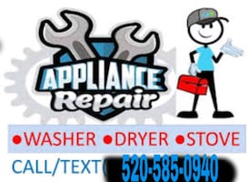 We Repair Appliances.