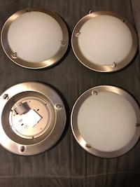 "4 Ikea ""Pult"" ceiling light fixtures max 75W TORONTO"