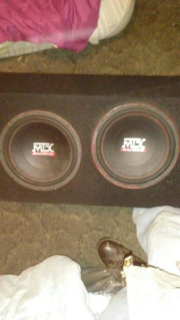 """Two mtx 10"""" subs"""