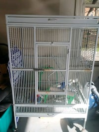 Wroght Iron Parrot Makaw Cage
