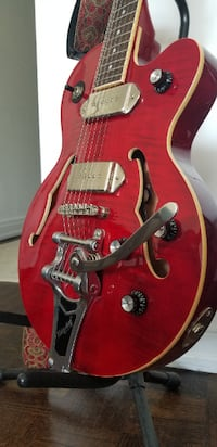 Epiphone Wildkat  - Wine Red + Guitar gig, strap, cable and stand Montreal