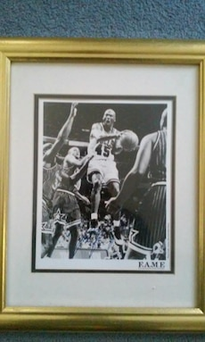 Michael Jordan framed wall decor